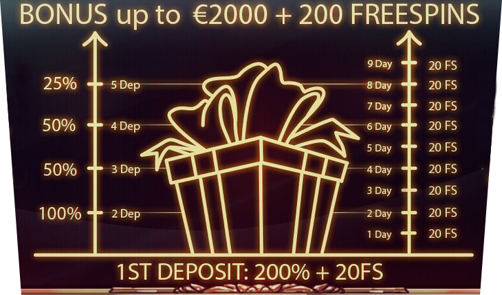 Bonuses and free spins from Joycasino.