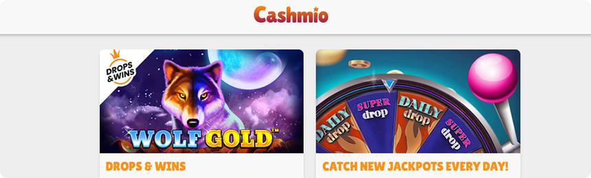 Cashmio casino bonuses.